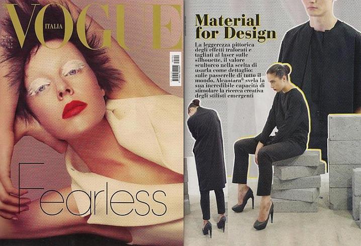 Vogue Italy, AVA Catherside  Tatiana Leshkina