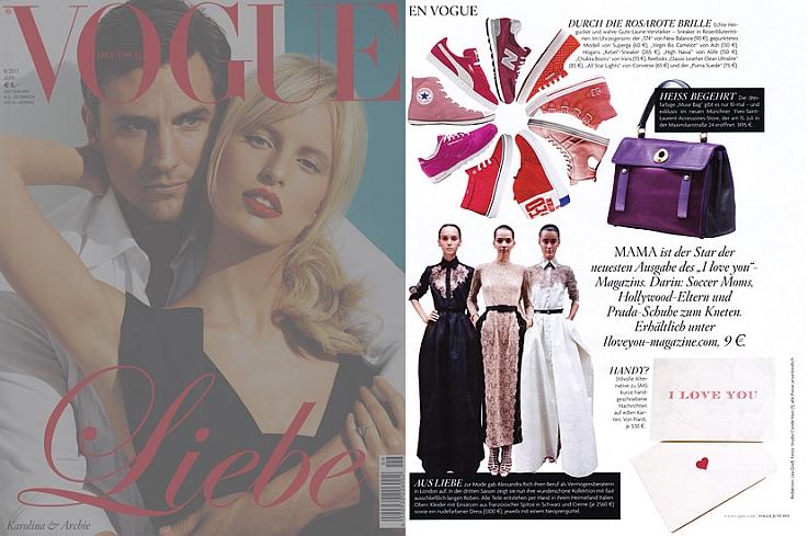 Vogue Germany<br>Alessandra Rich</br>