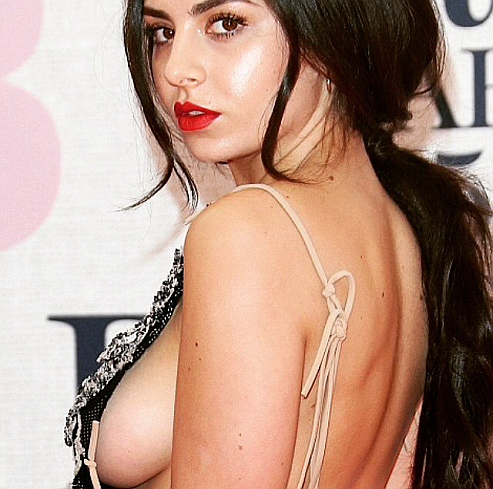 Charli XCX, BRIT Awards 2015 Red Carpet