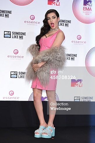 Charli XCX, 2014 MTV Europe Music Awards