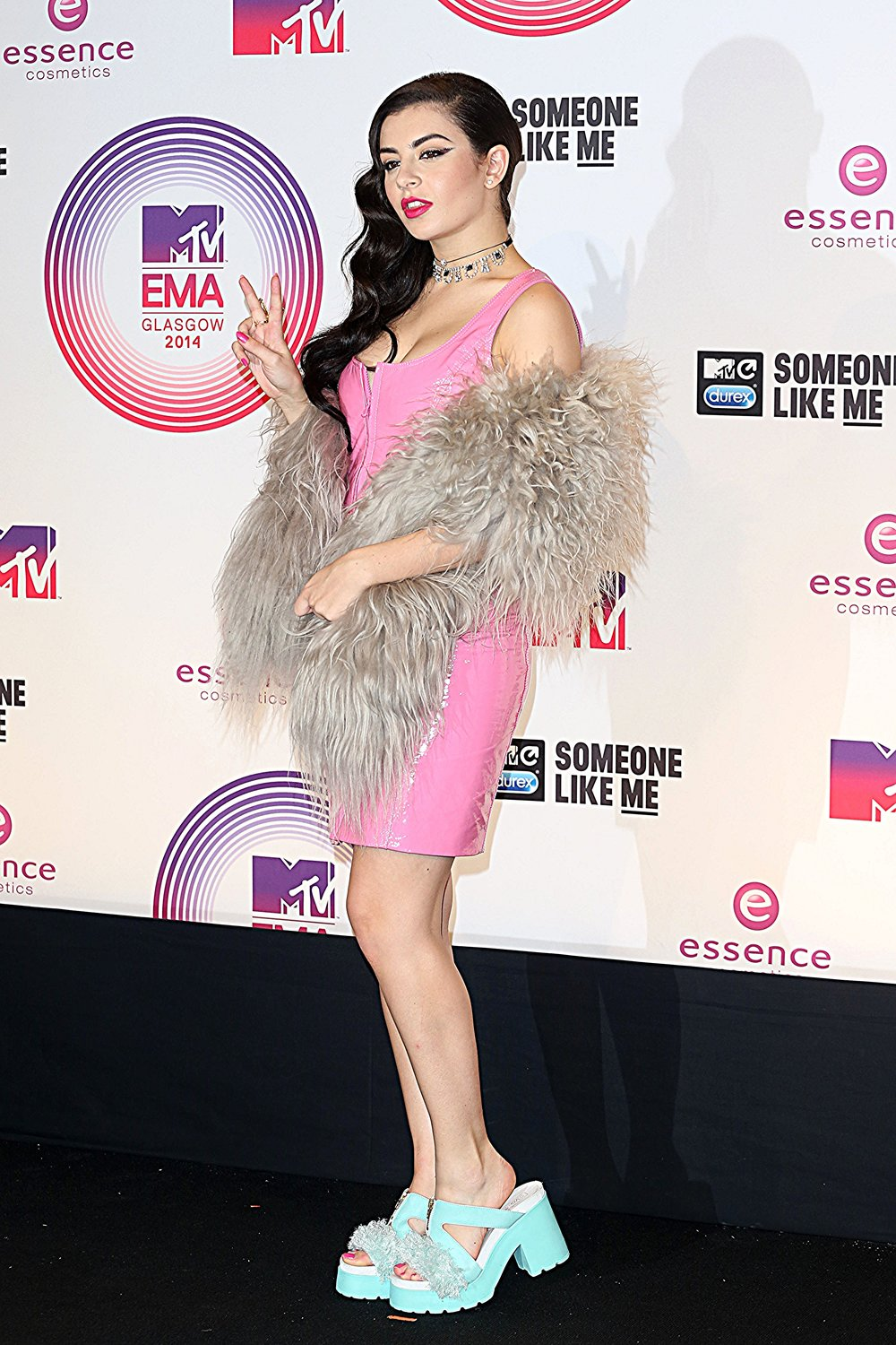 Charli XCX<br>MTV<br>Europe Music<br>Awards</br>