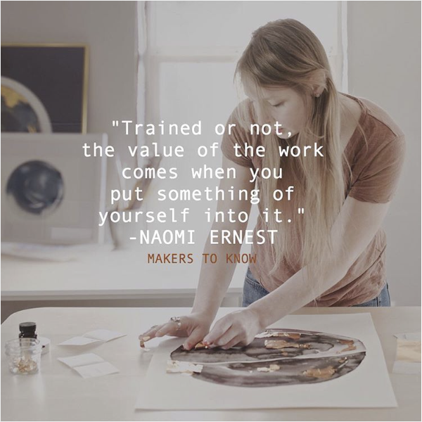Makers to Know: Naomi Ernest | Artist & Photographer Interview