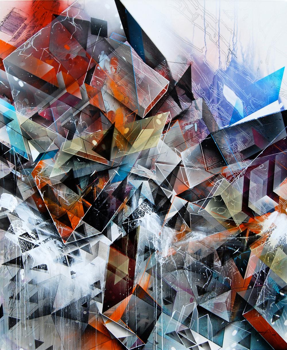 Poly Cubo 170x140cm 2012