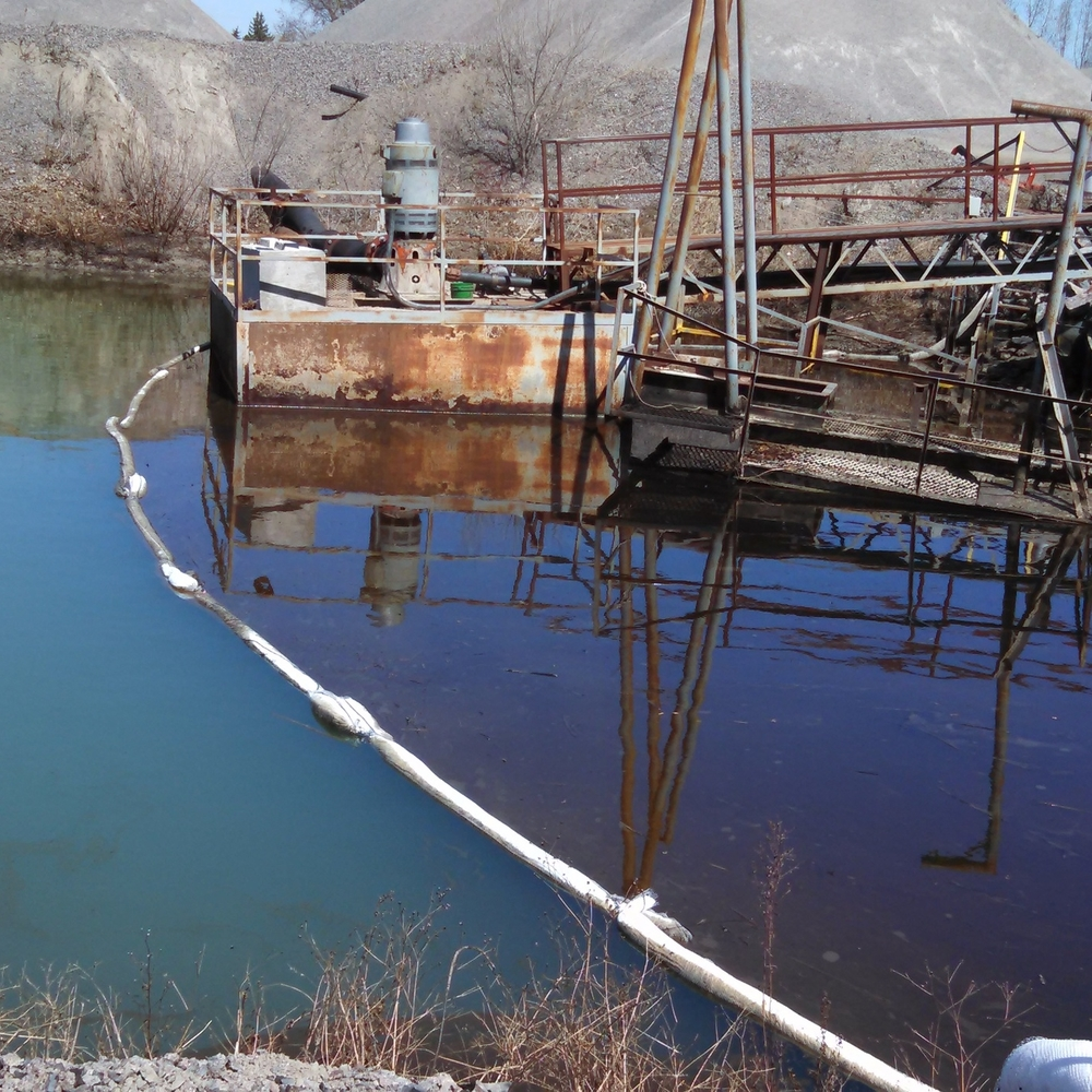 Pinnacle Engineering - Bioremediation Projects - Granite Quarry Vandalism