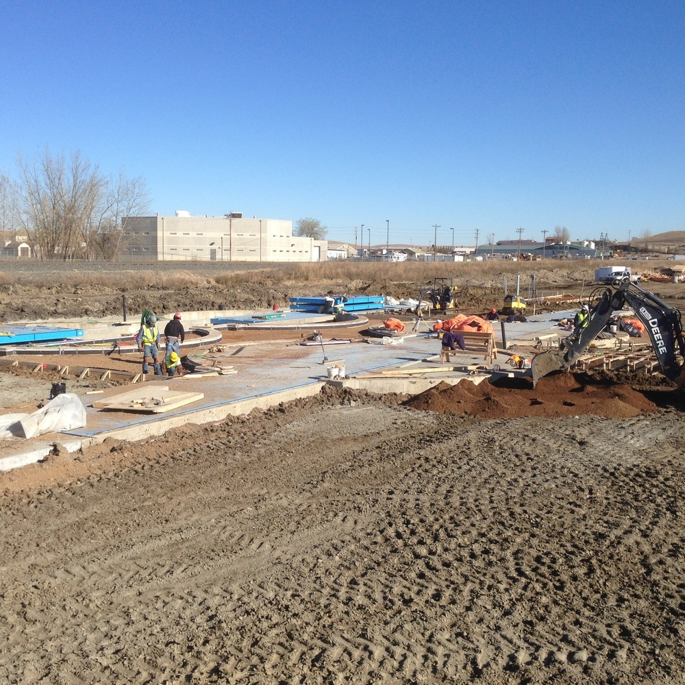 Pinnacle Engineering - Civil Engineering Projects - North Dakota Frac Sand Terminal