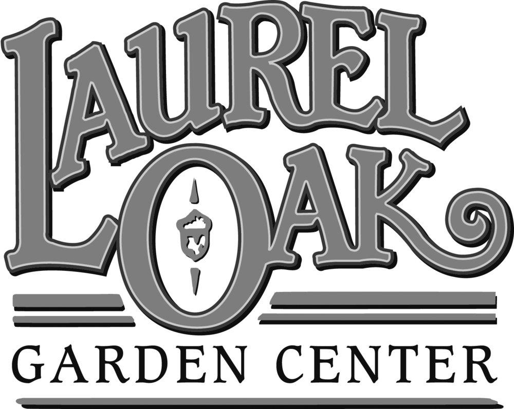 LaurelLogo garden ctr bw.jpg