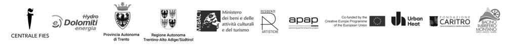 with the support of European Community, Provincia Autonoma di Trento Regione Autonoma Trentino Alto Adige-Südtirol, Ministero dei Beni e delle Attività Culturali e del Turismo Hydro Dolomiti Energia