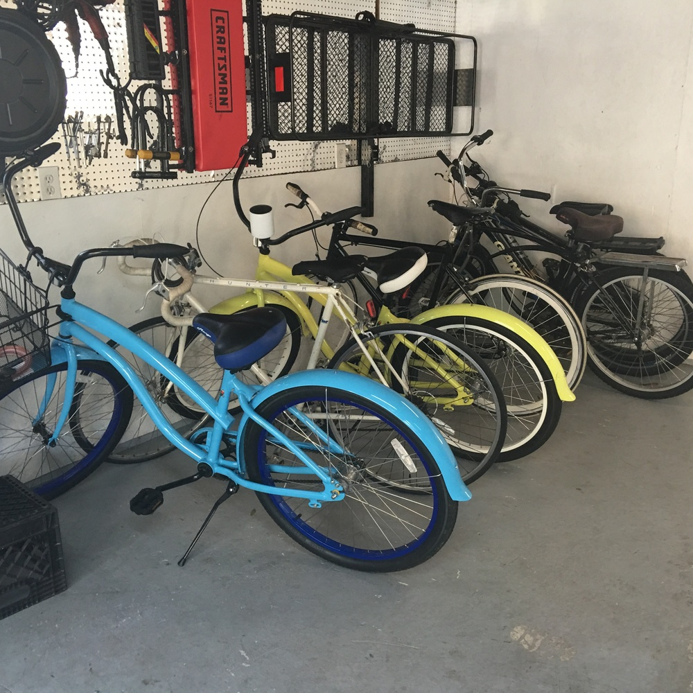 bikes in garage.JPG