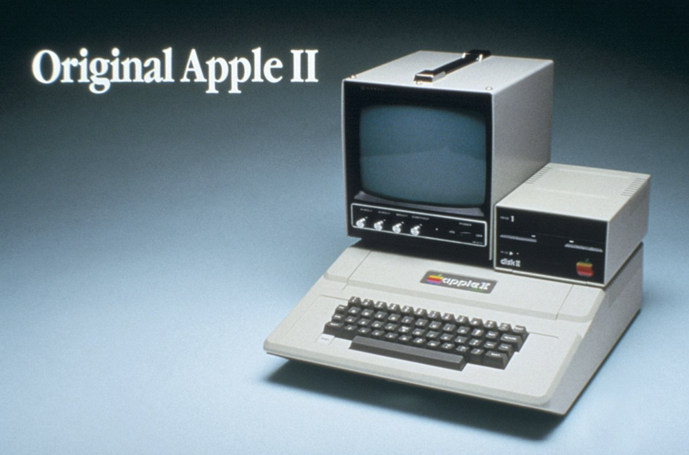 The original Apple II personal computer