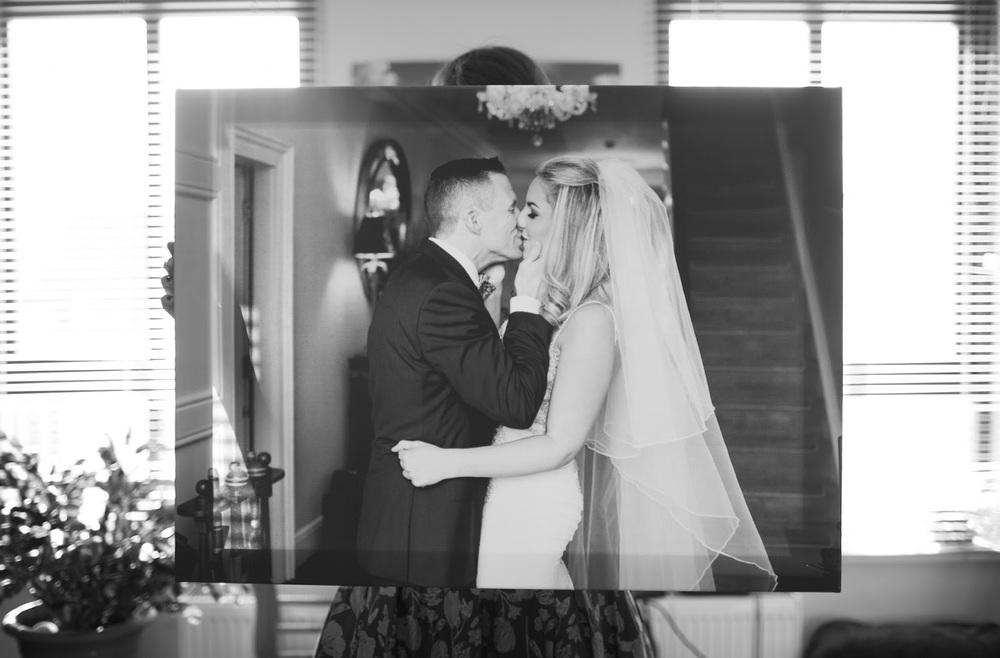 Wedding Canvas by Katya Koliban Photography