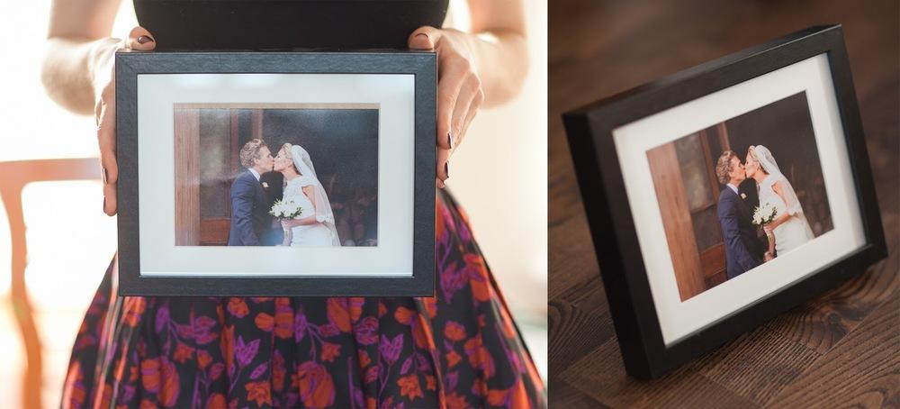 Wedding Picture Frame by Katya Koliban Photography