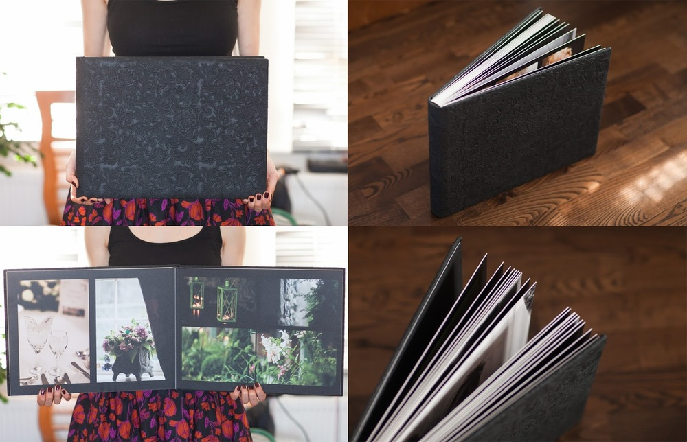 Wedding Layflat Album by Katya Koliban Photography