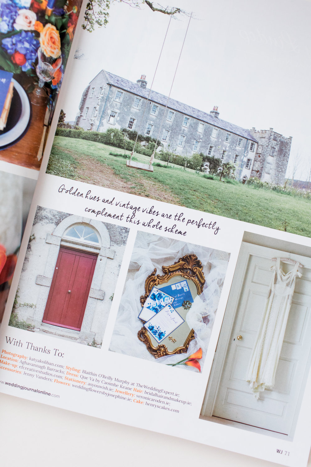 Irish Wedding Journal - Katya Koliban Photography