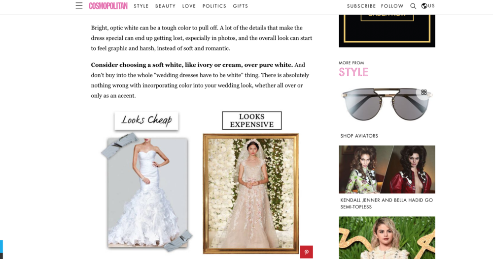 Why wedding dress is so expensive