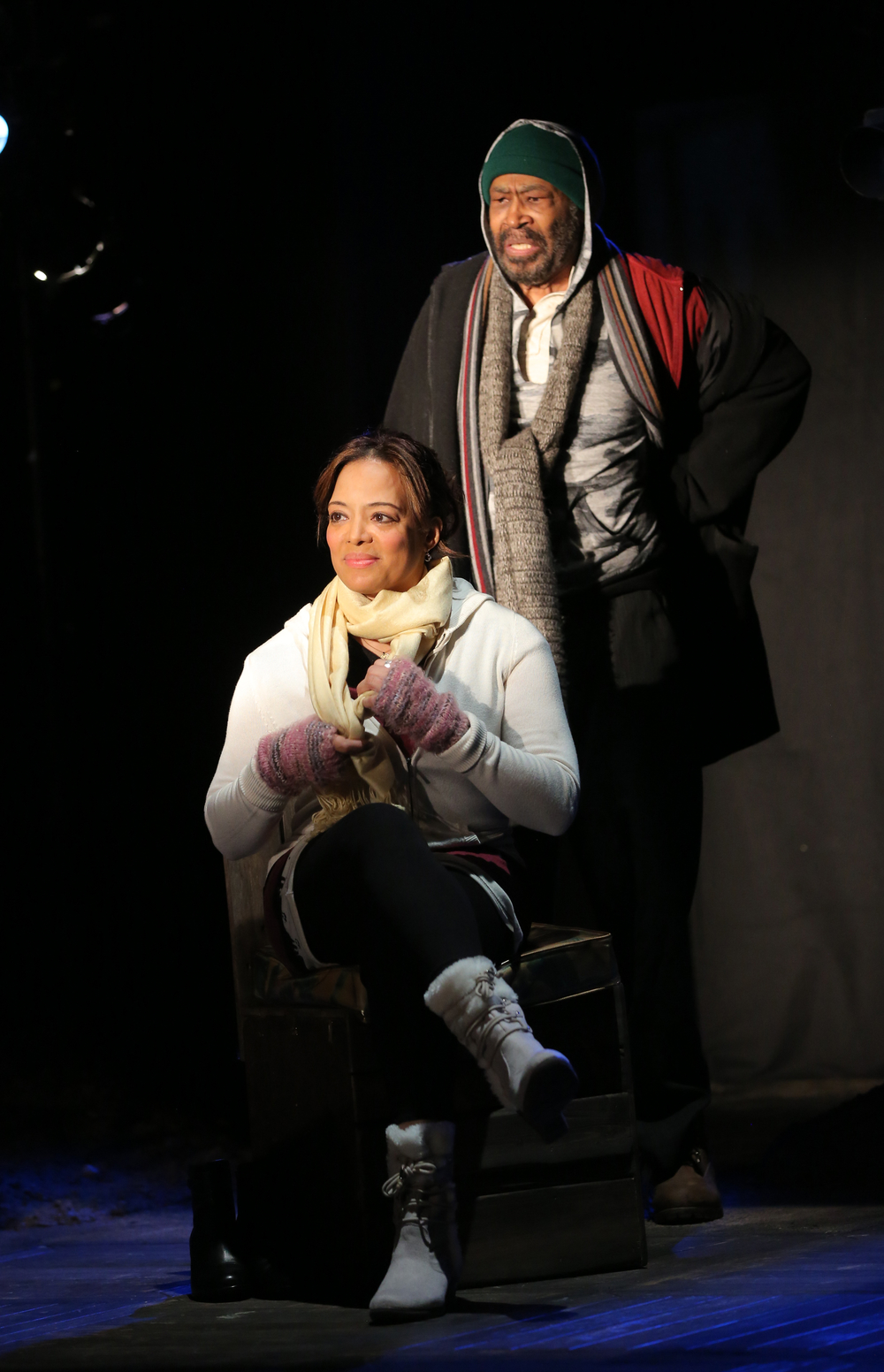 Lauren Velez and Anthony Chisholm
