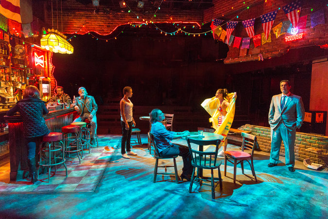 """I don't make a habit of spending time in bars, but even if you're like me, make an exception and walk into Daphne's Dive. It is inhabited by seven people who come to vibrant life. Alternately poetic and fiercely realistic."" - TheatrePizzazz"