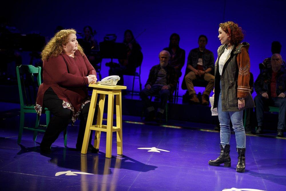 Shawna E. Hamick and Daphne Rubin-Vega. Photo: Joan Marcus