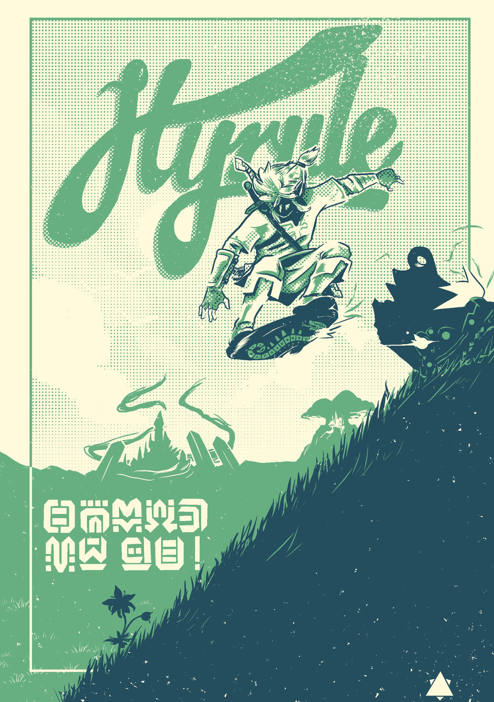 Breath of the Wild Travel Poster