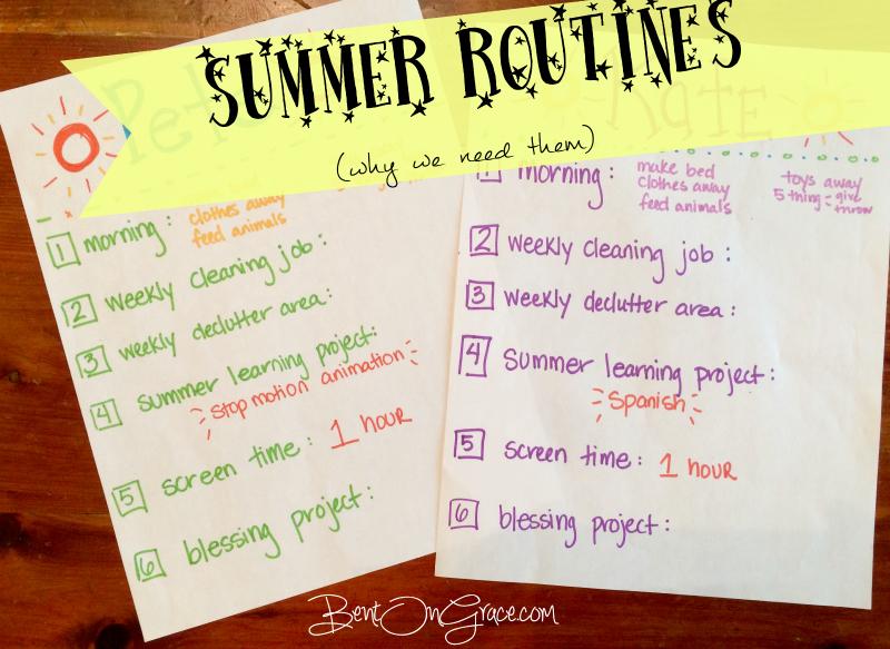 Summer Routines 2