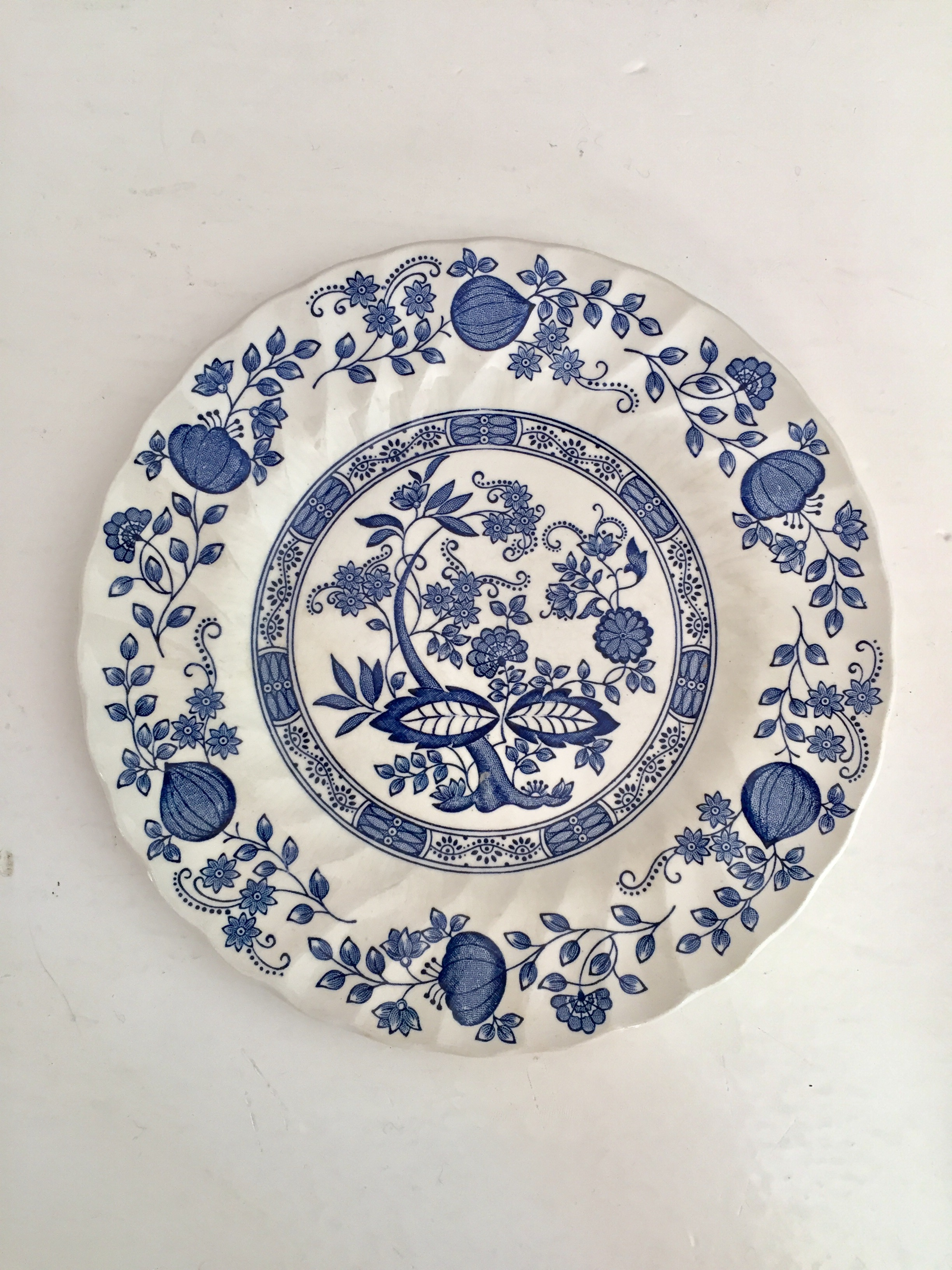 BLUE ONION MYOTT MEAKIN PLATES & The Vintage Laundry u2014 BLUE ONION MYOTT MEAKIN PLATES