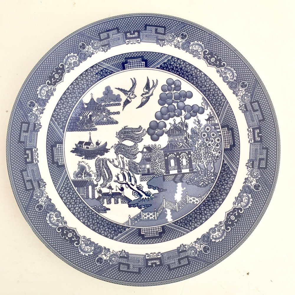 WILLOW JOHNSON BROS PLATES  sc 1 st  The Vintage Laundry & The Vintage Laundry u2014 WILLOW JOHNSON BROS PLATES