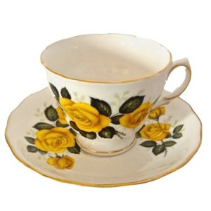 The Vintage Laundry —TEACUPS AND SAUCERS