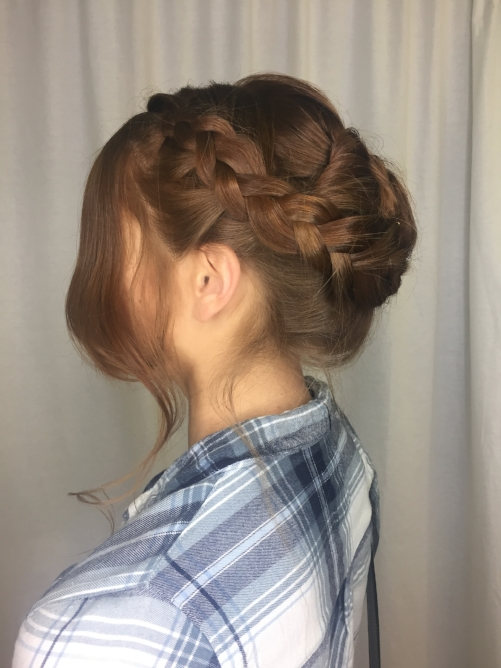 Updo by Gabriella