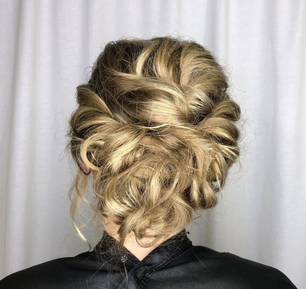 Twisted Updo by Taylor
