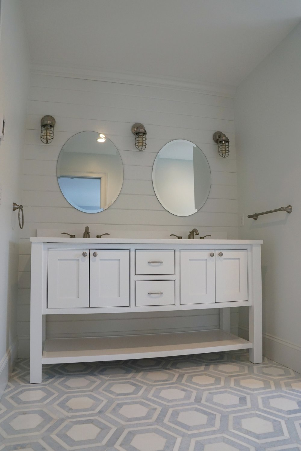 master bath on Manomet Ave.