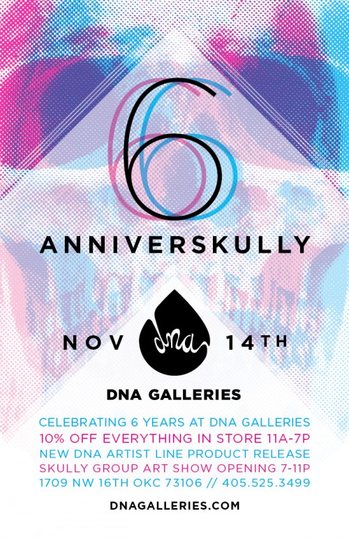 DNA Galleries Anniverskully 6
