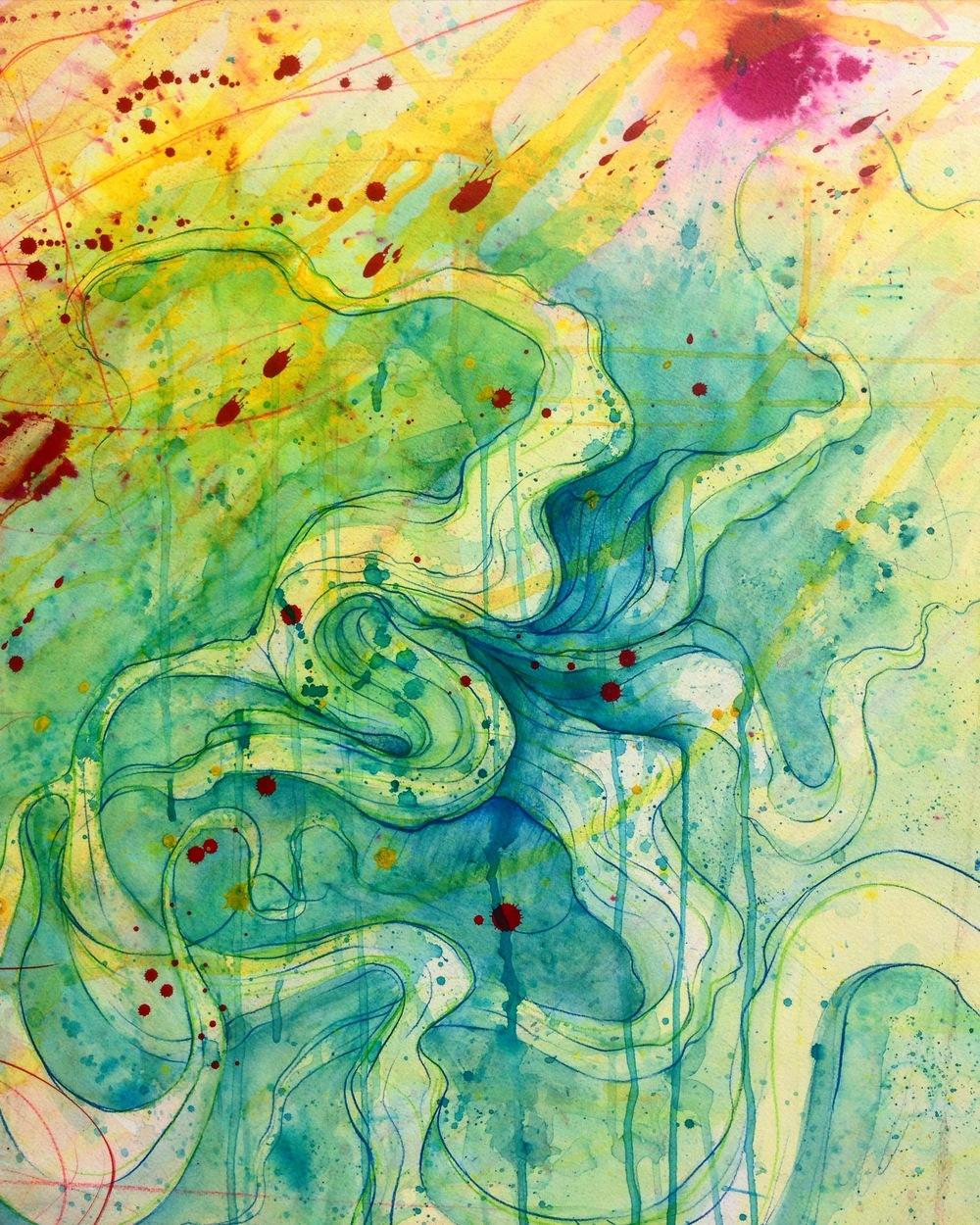 Dylan Bradway - Blue Flower