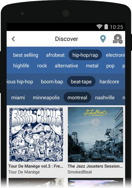 Bandcamp Discover helps bands promote their music — Raven