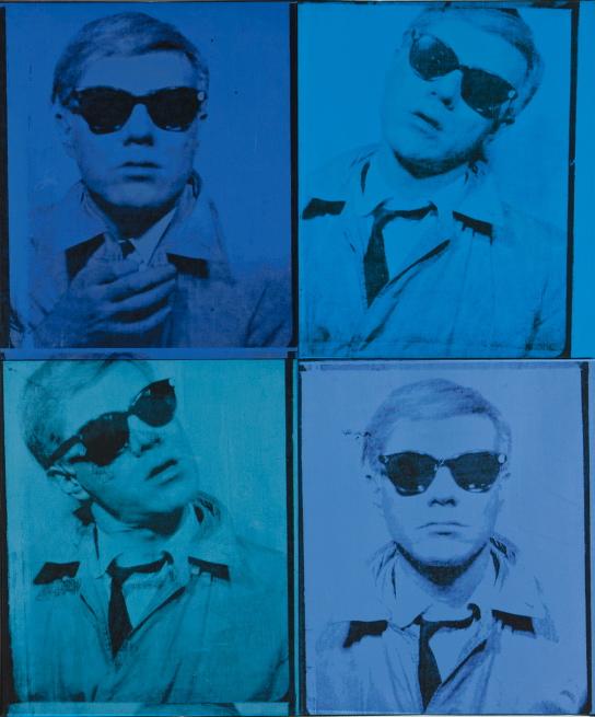 Andy Warhol's earliest self portrait Andy Warhol Foundation