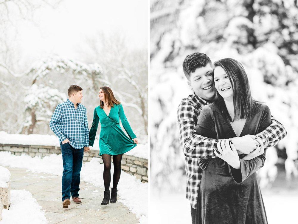 engagement pictures in snow ohio.jpg