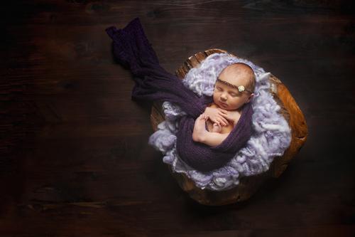 Blush little baby plano newborn photography maisey 5