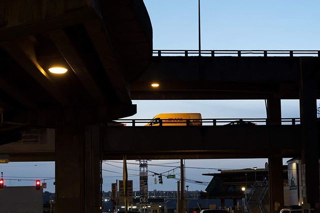 One Last Pass #washingtonstate #sr99 #alskanwayviaduct #viadoom #construction #seattle #sodo #highway99 #closure #viaduct