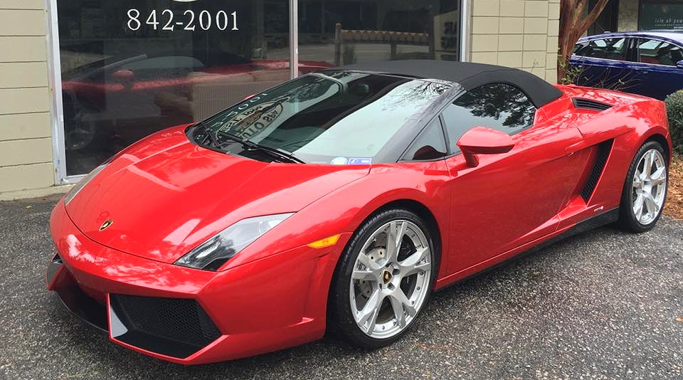 This 2012 Lamborghini GallThis 2012 Lamborghini Gallardo LP 550-2 Spyder is ready for the road featuring 3M lifetime window tinting and SunTek paint protection film.