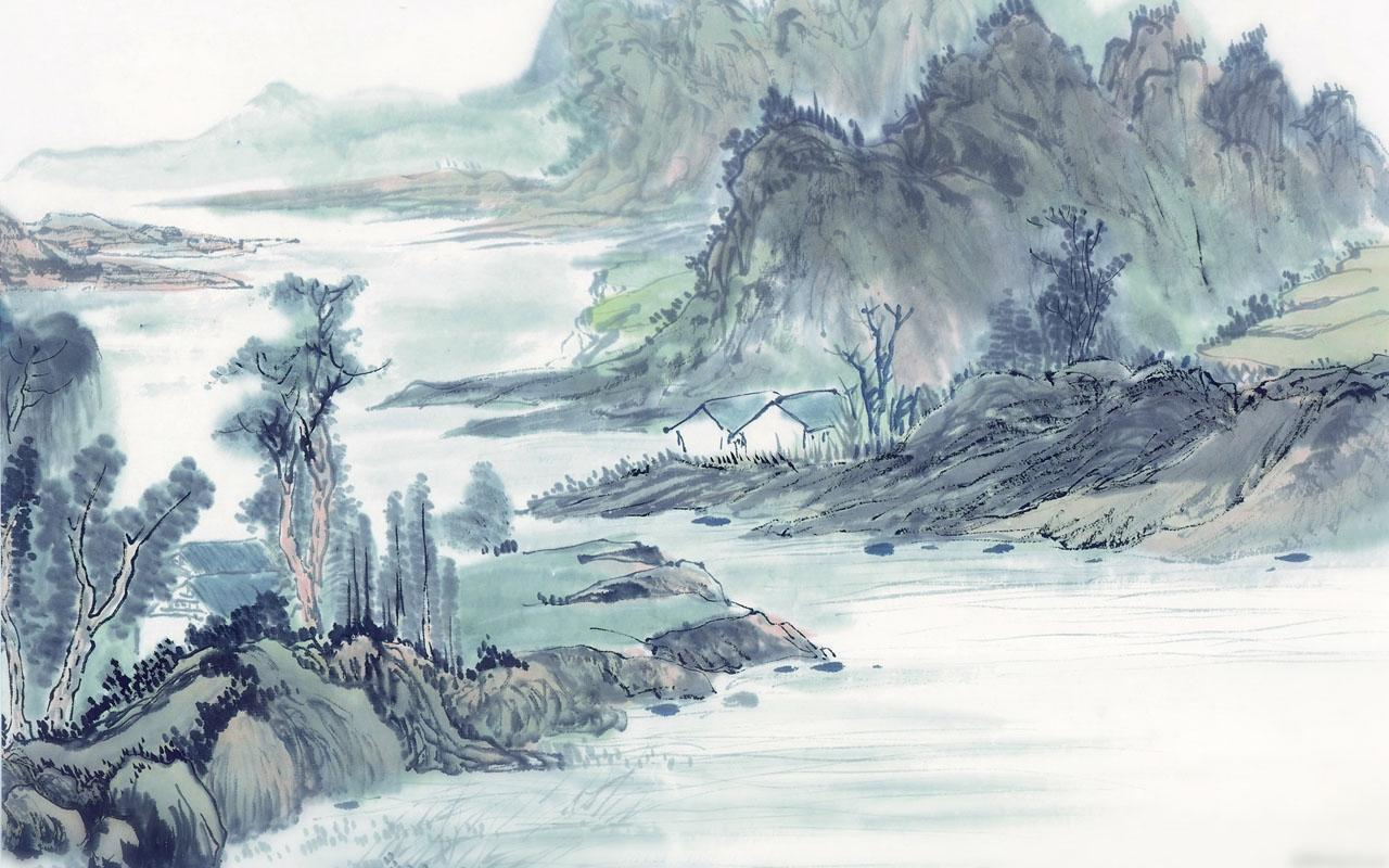 Chinese Ink Painting 836 2