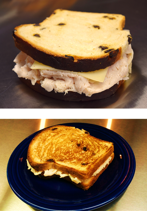 Turkey Swiss on Raisin
