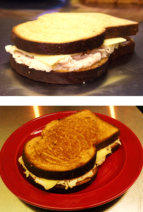Turkey Swiss on Wheat