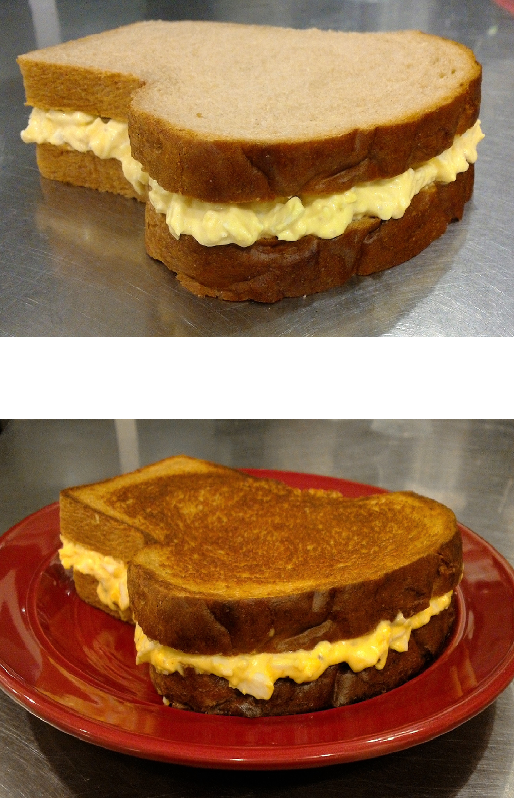 Egg Salad on Rye