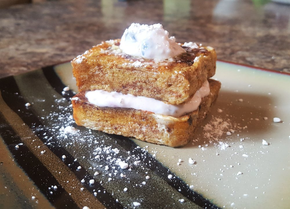 Stuffed Raisin Bread French Toast