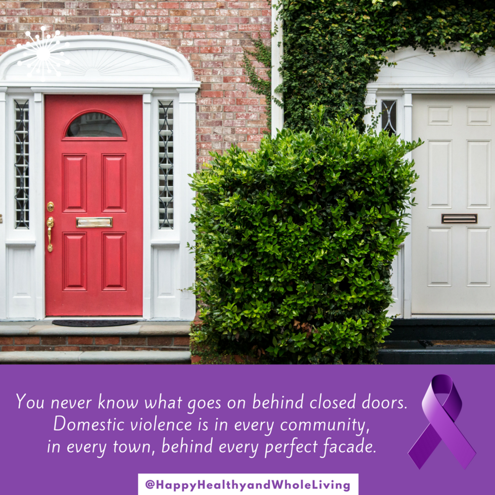 You never really know what goes on behind closed doors. Abuse doesn't discriminate. It's in every neighborhood.   #domesticviolence   #relationship   #blog   #narcissisticabuse   #dv   #life   #resilience   #HappyHealthyAndWholeLiving