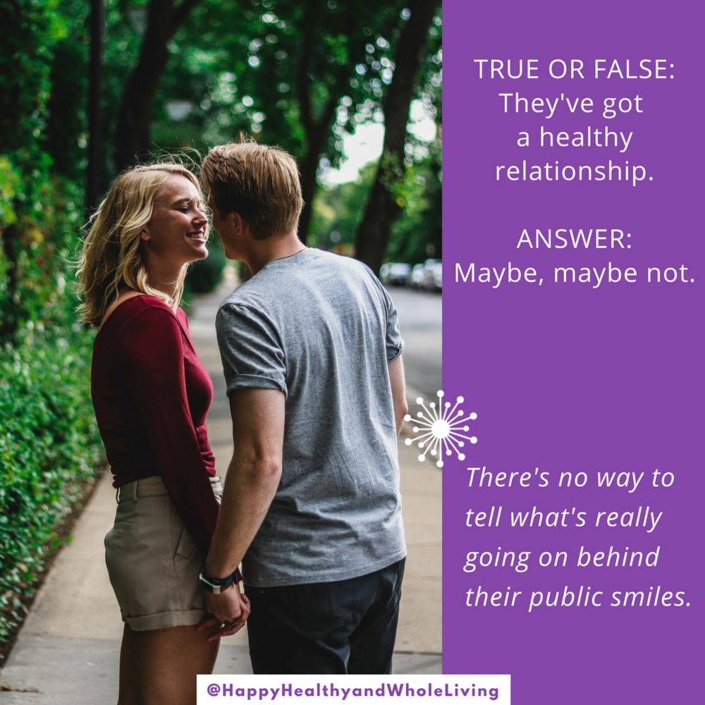 Wondering whether your relationship is healthy? Trust your gut. Check  #ontheblog  for more domestic violence resources, hope and inspiration.   #selfesteem   #domesticviolence   #relationships   #domesticviolence    #besafe   #HappyHealthyAndWholeLiving