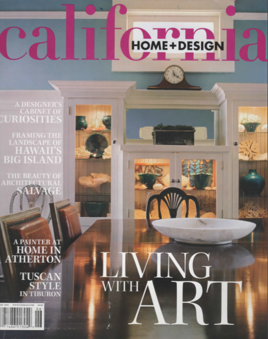 California Home U0026 Design Magazine Featured Her Interior Design And Color  Consulting Work In A 7 Page Article, U201cTuscan Style In Tiburonu201d.