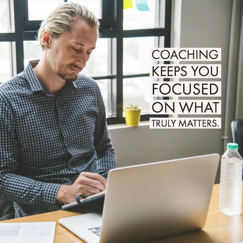 Men Need Life Coaching