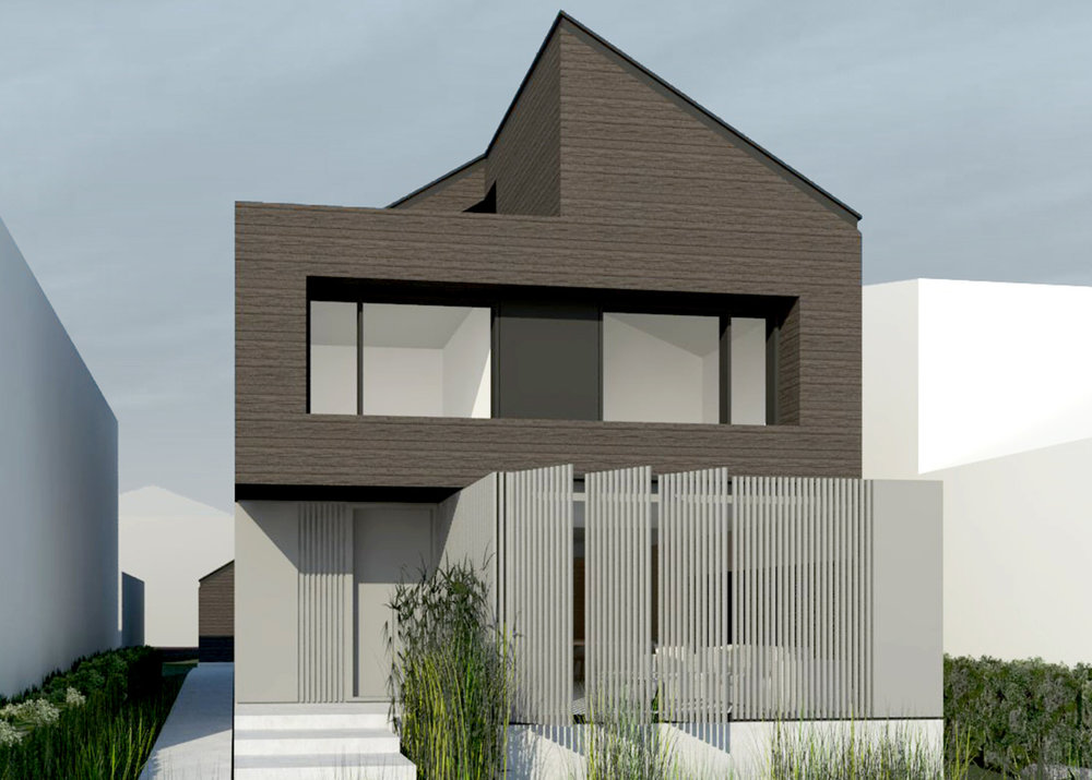 WEST 68TH  A 3200 square foot contemporary custom built family home in Vancouver. Designed by D'Arcy Jones Architecture.