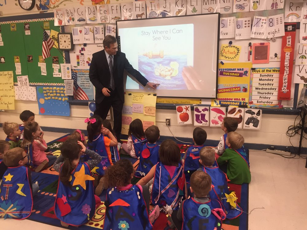 Tom Santo:caped kindergarteners at Zane North.JPG
