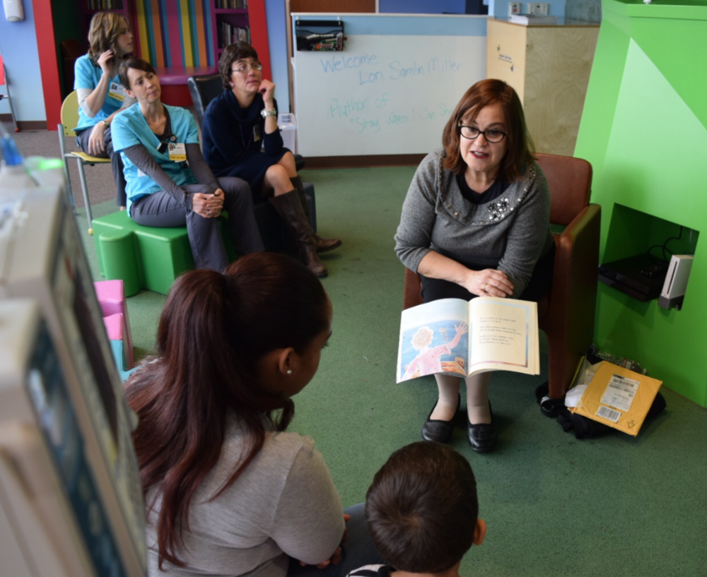 Gloucester City News, November 24, 2016    Children's Book Author Reads to Pediatric Patients Cooper