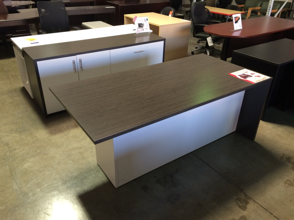 Copy of Nimitz Series Desk & Credenza ($900.00)